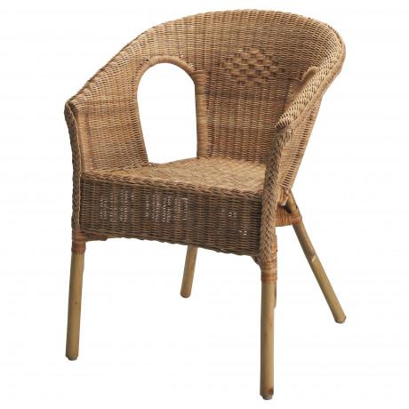 Кресло АГЕН ротанг, бамбук фото 0