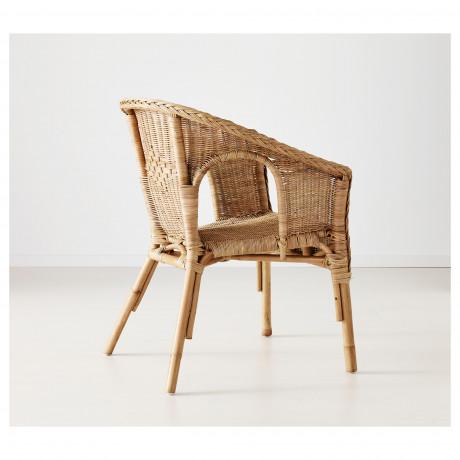 Кресло АГЕН ротанг, бамбук фото 2